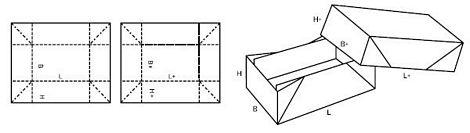 Katalog FEFCO - wzór opakowania nr 309