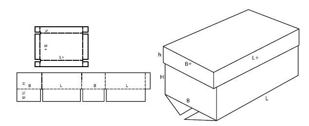 Как сделать коробочку из картона с крышкой своими руками фото 77
