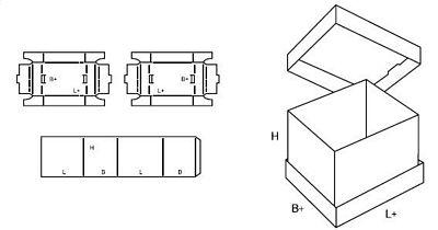 Katalog FEFCO - wzór opakowania nr 314