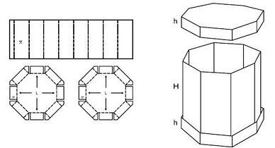 Katalog FEFCO - wzór opakowania nr 350