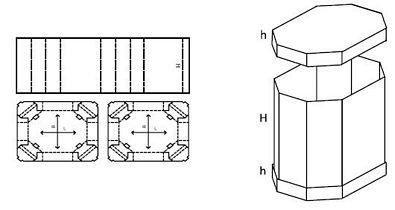 Katalog FEFCO - wzór opakowania nr 352