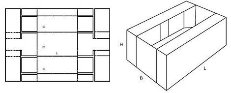 Katalog FEFCO - wzór opakowania nr 433