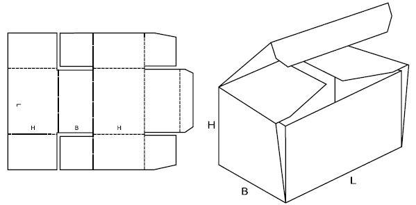 Как с картона сделать коробку для 723