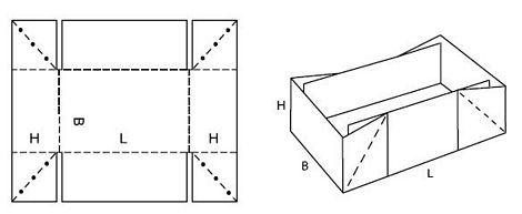 Katalog FEFCO - wzór opakowania nr 448