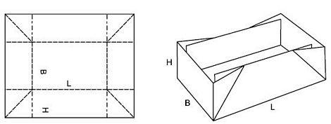 Katalog FEFCO - wzór opakowania nr 449