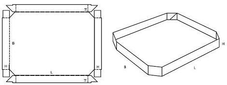 Katalog FEFCO - wzór opakowania nr 459