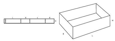 Katalog FEFCO - wzór opakowania nr 501