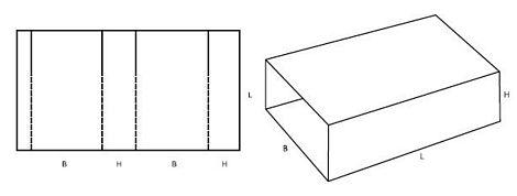 Katalog FEFCO - wzór opakowania nr 503