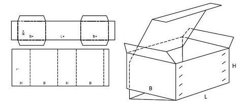Katalog FEFCO - wzór opakowania nr 511
