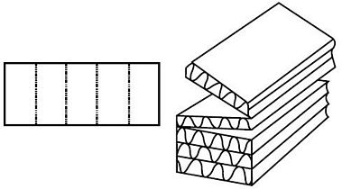 Katalog FEFCO - wzór opakowania nr 966